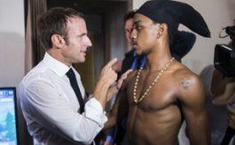 Saint-Martin: L'ex-braqueur photographié avec Macron condamné pour possession de drogue