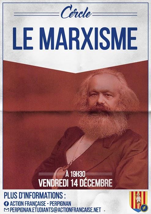 L'AF Perpignan vous invite à son cercle sur le marxisme le 141218