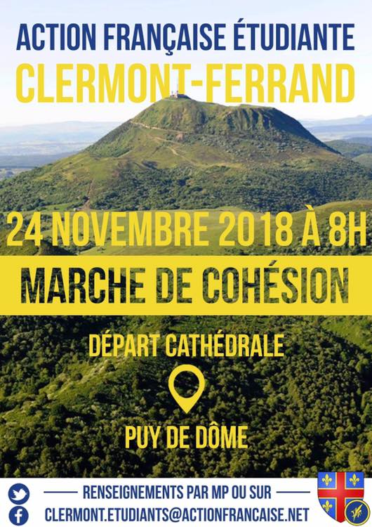 L'AF Clermont vous invite à sa marche de cohésion le 241118