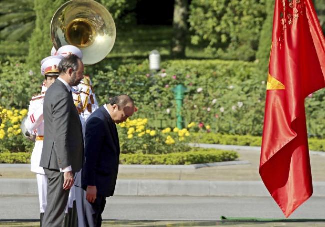 Le premier vministre rend hommage à Ho Chi Minh
