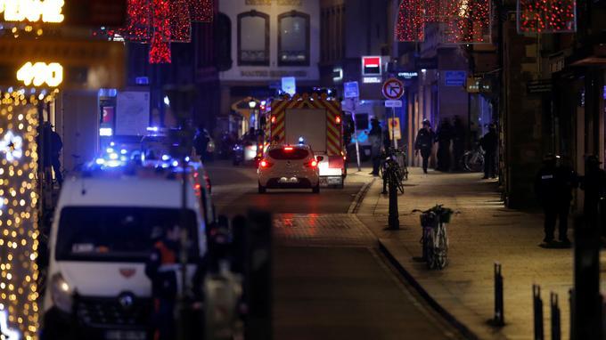 Unfiché S tire sur la foule à Strasbourg