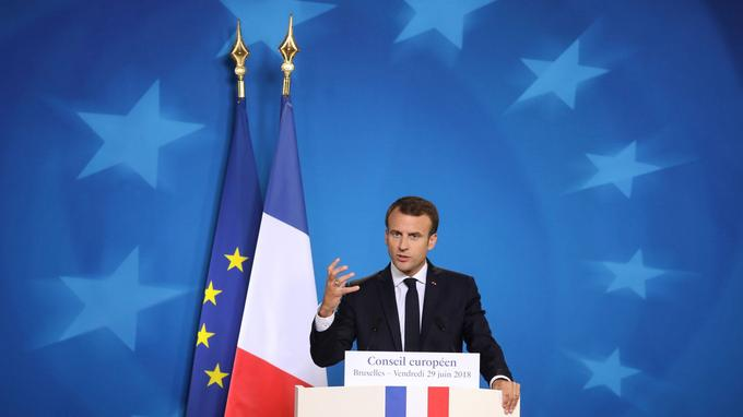 Macron est prisonier de l'Union Européenne