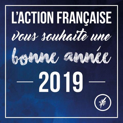 Vœux de l'Action française pour 2019