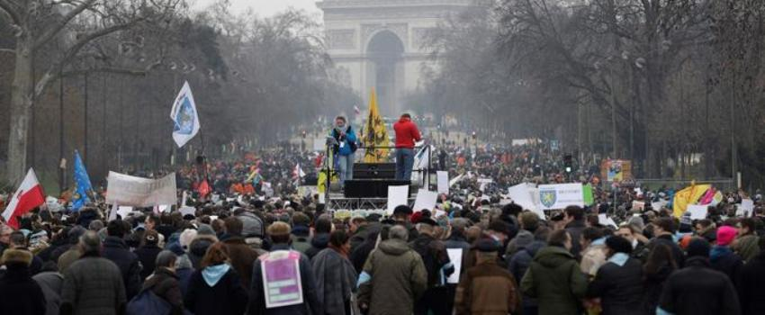 Bioéthique: la «Marche pour la vie» rassemble des milliers de manifestants