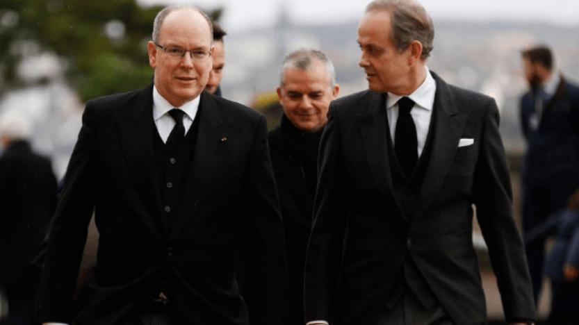 Premières photos et vidéo des funérailles de Monseigneur le comte de Paris