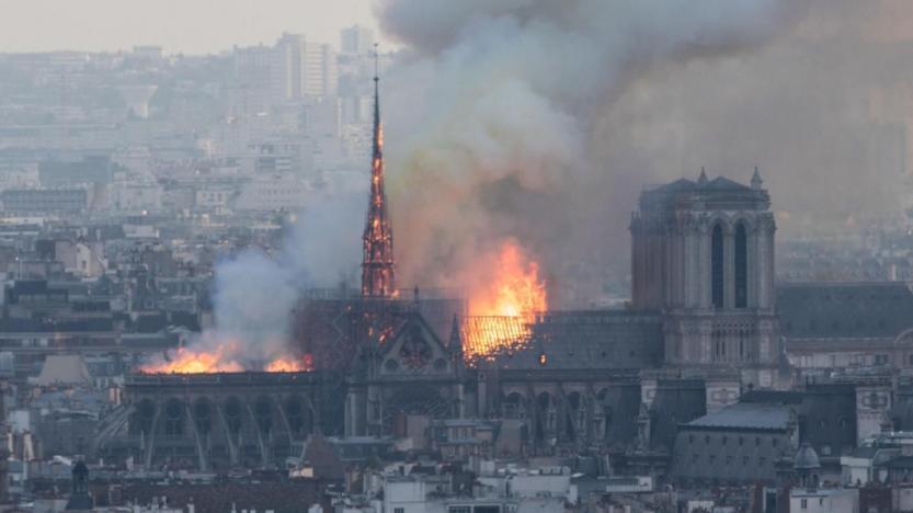 Incendie de Notre-Dame: malaise à l'UNEF après les propos de deux responsables