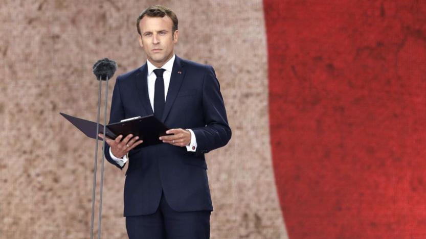 D‑Day: Emmanuel Macron supprime «la France éternelle» de la lettre d'Henri Fertet