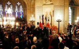 Les funérailles du comte de Paris, Henri VII de France