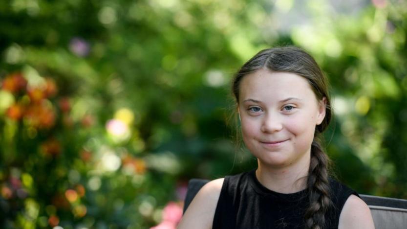Mathieu Slama: Greta Thunberg, l'égérie verte de Davos?