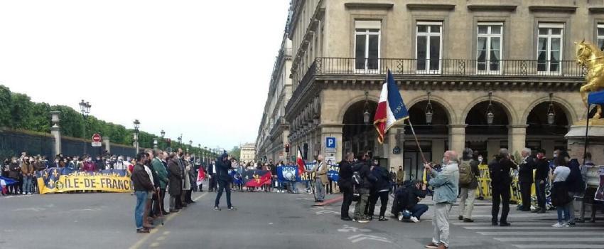 A Paris, l'Action française manifeste en l'honneur de Jeanne d'Arc