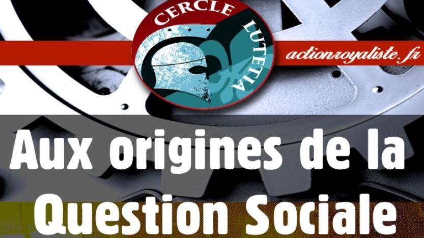 Le Cercle Lutétia : Les origines de la question sociale