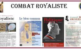La presse royaliste