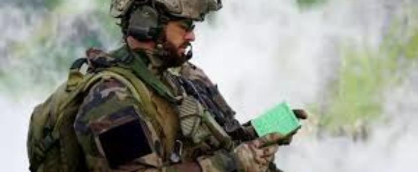 Hommage au sergent Maxime Blasco