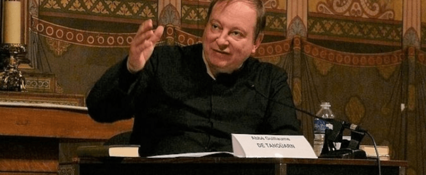 ABBÉ GUILLAUME DE TANOÜARN: «TRADITIONIS CUSTODES VISE L'EXTINCTION DU RITE TRADITIONNEL