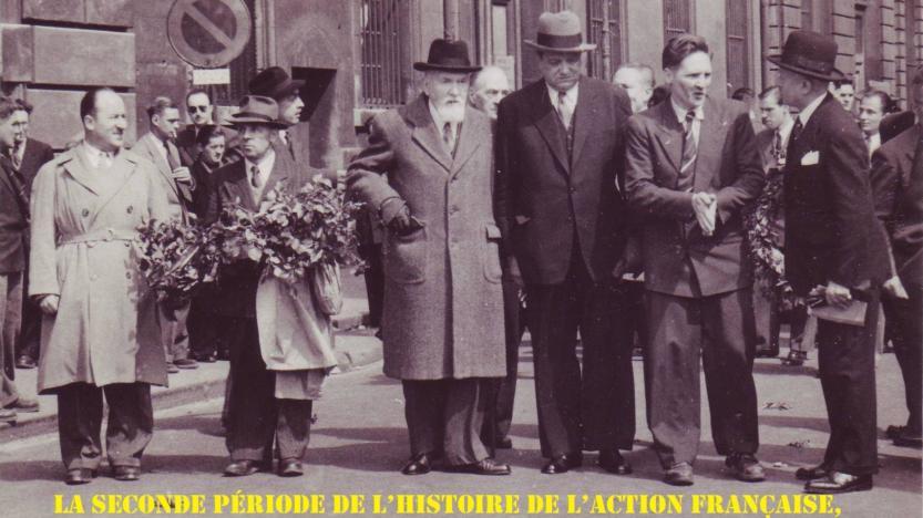 Série: Le legs d'Action française; rubrique 7: Boutang et Debray renouent avec la séduction intellectuelle du maurrassisme
