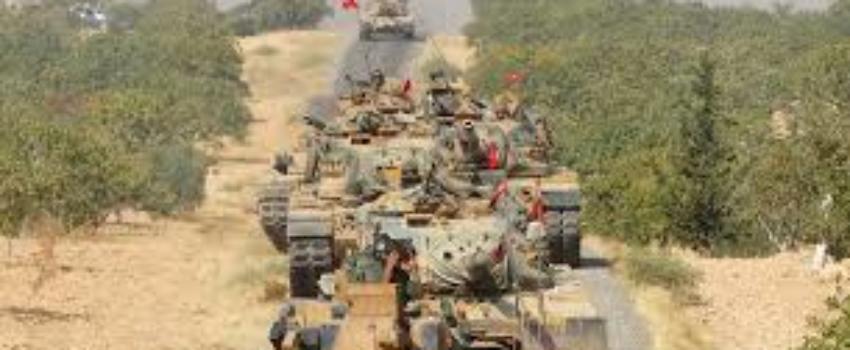 Cette fois la Turquie est en guerre contre laSyrie