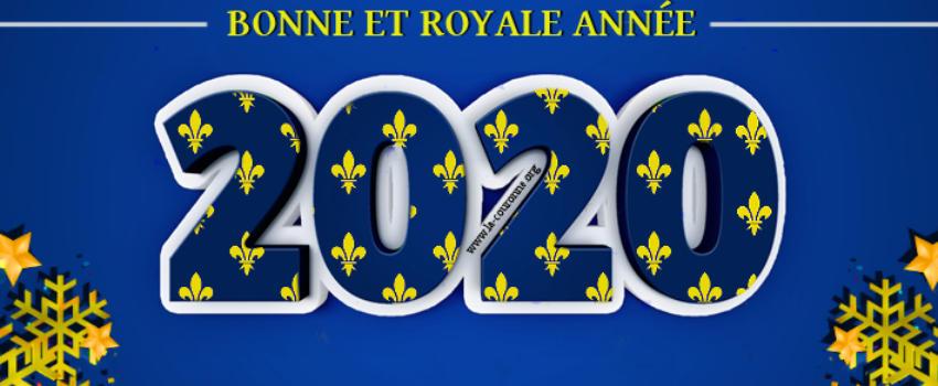 Bonne et royale année 2020, pour la France et les Français