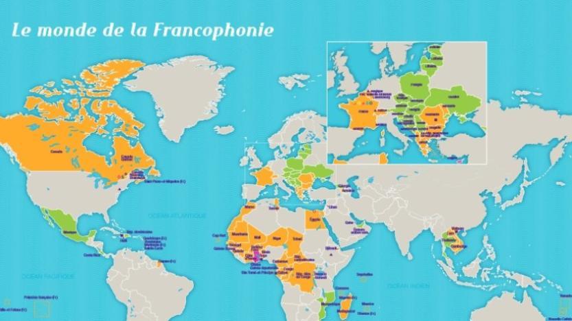 La population du monde francophone atteint 524 millions d'habitants (11/01/2021)