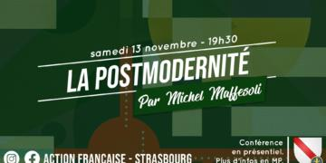 Strasbourg: Conférence du 13 novembre