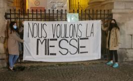 Mgr Ginoux: «Je demande aux fidèles d'envahir les églises ce dimanche!»