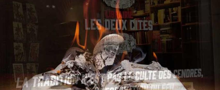 Les gauchistes attaquent la librairie Les Deux Cités àNancy. Où sont les défenseurs des libertés?
