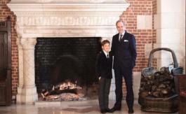 Le prince Gaston de France a10 ans aujourd'hui