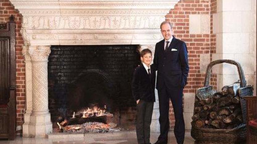 Le prince Gaston de France a 10 ans aujourd'hui