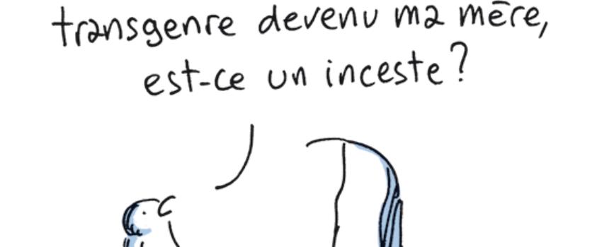 Caricature et marche blanche