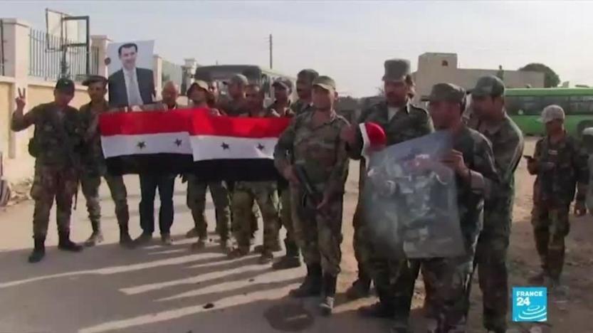 Renversement d'alliance en Syrie