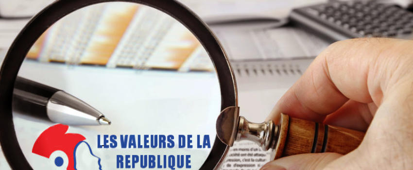 «Les valeurs de la République»