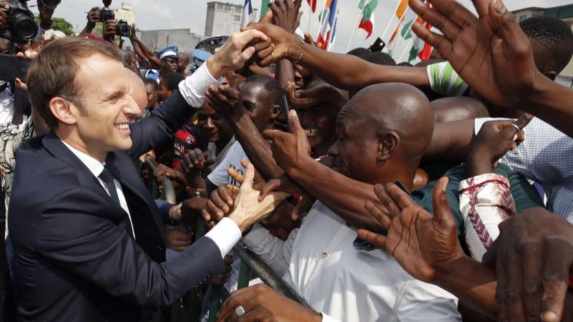 Macron: la faute d'Abidjan S'autoflageller, ce n'est pas aider l'Afrique