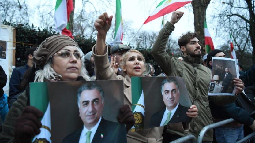 L'Iran en proie à des manifestations monarchistes