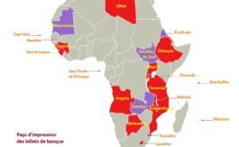 22 pays africains importent leur monnaie d'Angleterre et d'Allemagne