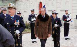 Monseigneur le Comte de Paris, invité d'honneur de la Marine Nationale