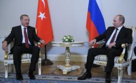 Poutine convainc Erdoğan de mettre fin àson offensive