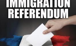 Un référendum sur l'Immigration?