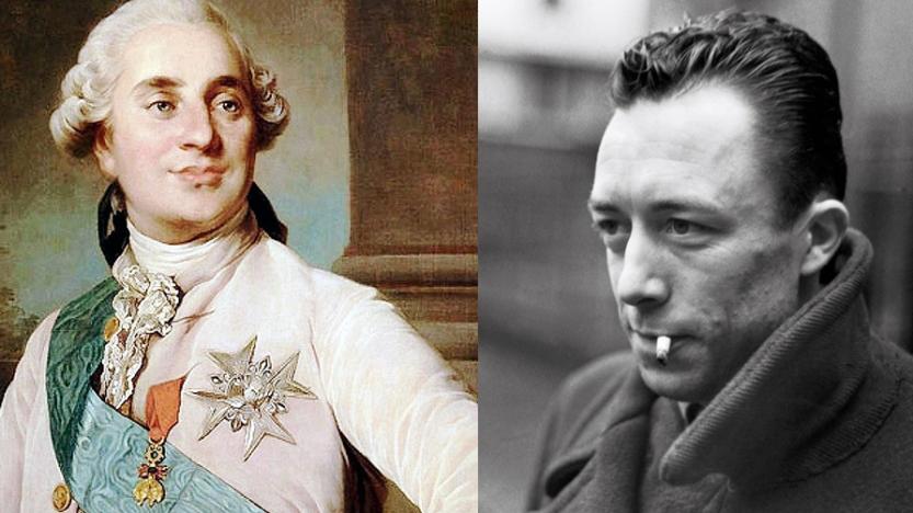 Où Camus dit le sens profond de la mort de Louis XVI: «Cet échafaud ne marque pas un sommet, il s'en faut. Certes, c'est un répugnant scandale»