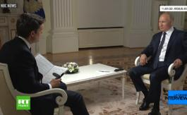 Interview de Vladimir Poutine sur NBC – Deuxième partie