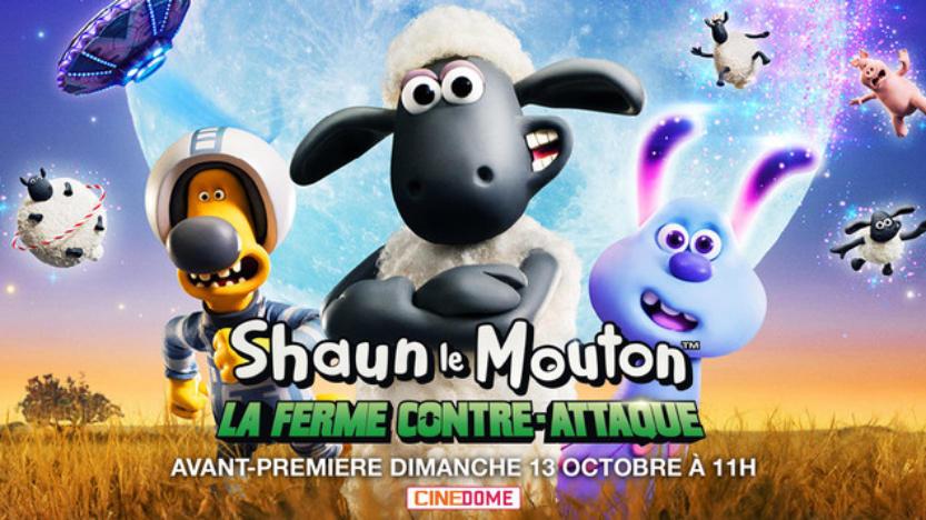 A l'affiche: Shaun le mouton