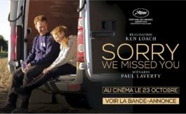 Art et Essai : Sorry we missed you