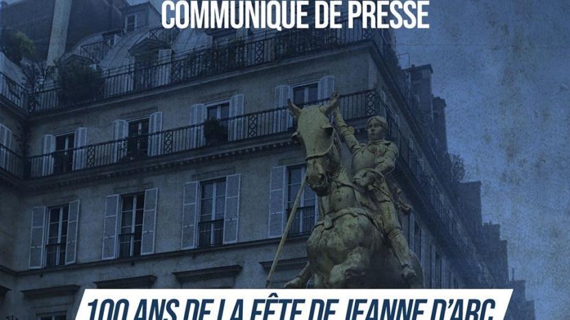 Hommage àJeanne d'Arc