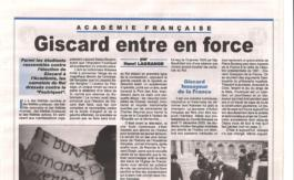 Giscard l'immortel