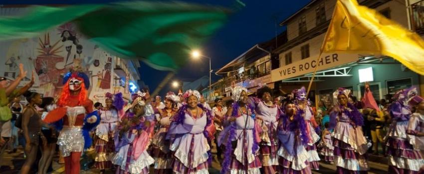 Le dynamisme de la Guyane française