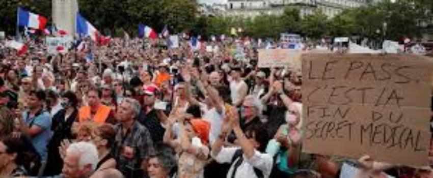 Manifestations contre le passe sanitaire samedi 7aout 2021
