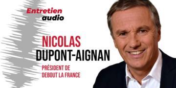 Nicolas Dupont-Aignan: «Le passe sanitaire est un instrument d'aliénation de nos concitoyens»